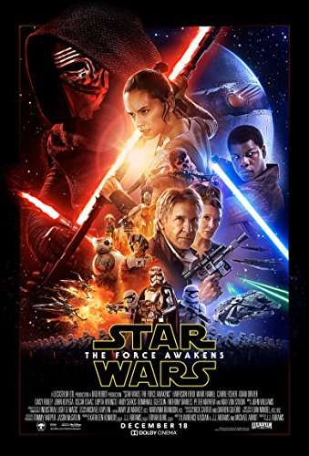 Poster Star Wars The Force Awakens Movie 70 X 45 cm