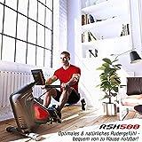 Sportstech RSX500 Rudergerät – Deutsche Qualitätsmarke -Video Events & Multiplayer APP – inkl. Pulsgurt (im Wert von: 39,90) – 16 Programme – Magnetwiderstand – Wettkampfmodus – klappbar - 6