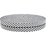 Gurtband Gemustert, aus nachhaltigem Material, 40 mm breit,