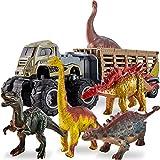 kimonca Dinosaurio Camion Transporte de Coches Juguetes Figuras Animales Regalos para 3 4 5 Años Niños Niñas