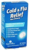 Natra-Bio Cold and Flu Relief 60 Tablets