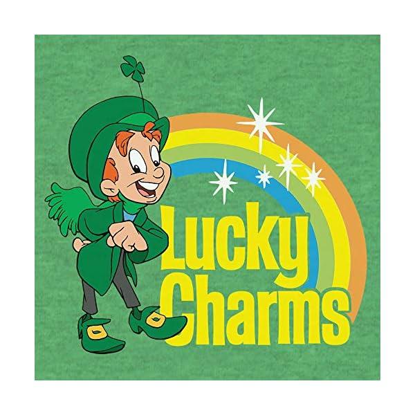 Tee Luv Lucky Charms T-Shirt – Green Lucky The Leprechaun Shirt