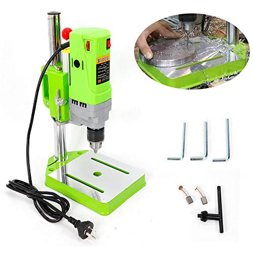 Purchase MINI Electric Bench Drill Press Workshop Variable Speed Drilling Stand Strong Power 710W