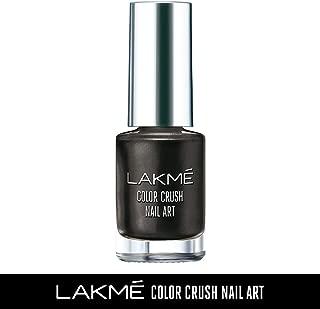 Lakme Color Crush Nailart, M7 Black, 6 ml