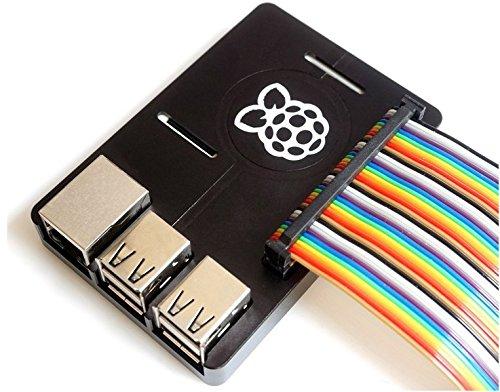 『SupTronics® Raspberry Pi 3B+ 3 Model B 2 B/B+用CNCケース ウルトラスリム アルミ製ヒートシンク搭載 吸熱構造 GPIO周辺機器対応』の6枚目の画像