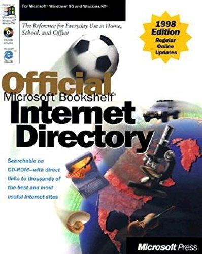 Official Microsoft Bookshelf Internet Directory 1997-98 (Microsoft Corporation)