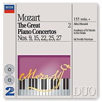 Mozart: The Great Piano Concertos Nos. 9, 15, 22, 25 & 27