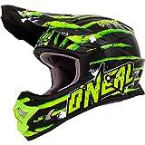 O'neal 2 Series Crawler Kinder Motocross Enduro MTB Helm schwarz/grÃŒn 2018: Größe: S (47/48cm)