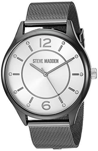 Steve Madden Reloj de moda (Modelo: SMWS058M3)