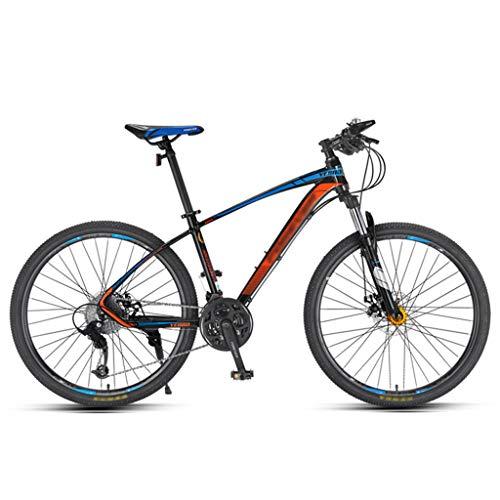 ZRN Mountain Bike Bicycle 26 Inch Wheel 27 Speed Line Disc Brake Adjustable Seat Bike Unisex Road Bike