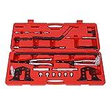 Kit de herramientas de instalación y extracción de sello de vástago de compresor de resorte de válvula, compresor de resorte de válvula de servicio de compresor de resorte