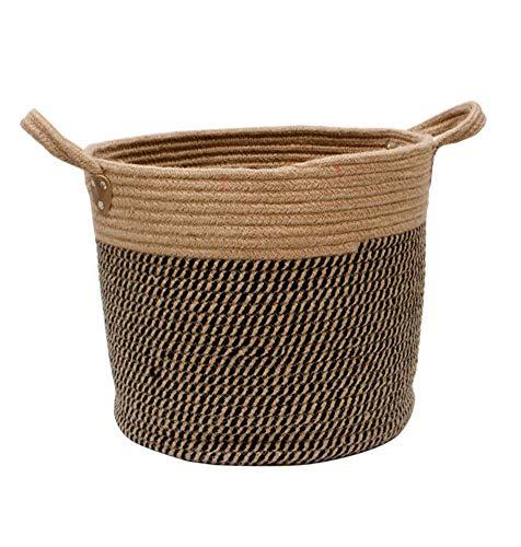 Yajun Wäschekorb Laundry Baskets Multifunktion Schmutziger Wäschesammler Multifunktions Platzsparend Einfach Zu Bedienen Einfache Haushaltsprodukte,Brown,S