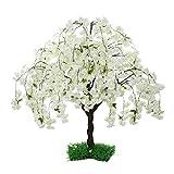 SPKTCULR White Artificial Blossom...