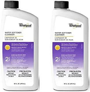 Whirlpool Water Softener Cleanser Formula 16oz, Pack of 2