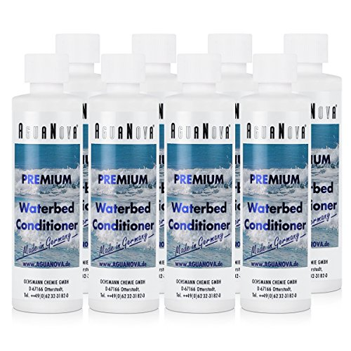 8x AguaNova waterbed conditioner Premium 250 ml, waterbedden - conditioner