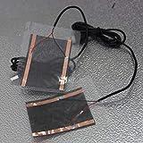 NOLOGO ZNYD 1pc El Invierno Caliente portátil Placa USB Zapatos de calefacción Calentador for Golves del Alfombrillas de ratón (Color : 1 Set)