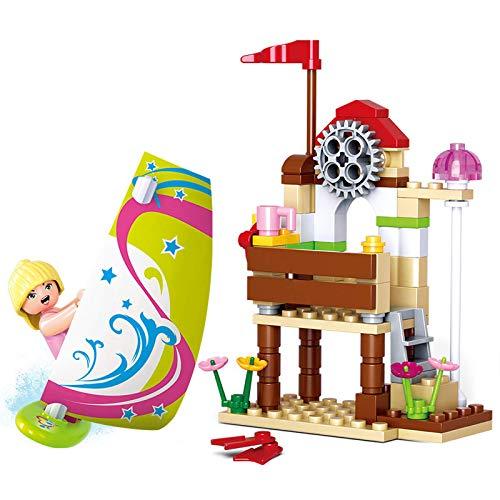 Yizhi Guirnalda de madera de los niños de Dream Pink quiere elegir juguetes de chicas de juguete de madera