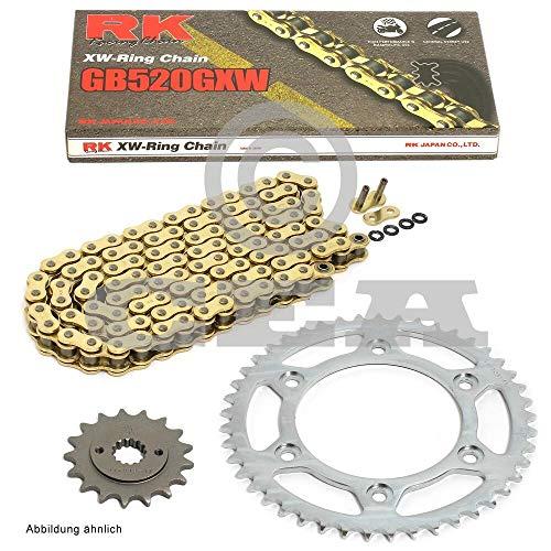 Chaîne Jeu pour Honda VTR 1000 SP2 02–06 Conversion, RK Go 520 GXW 106, ouvert,