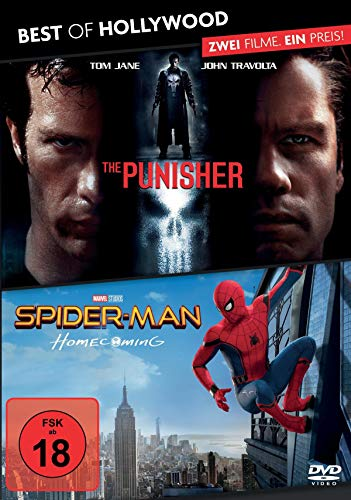 Best of Hollywood - 2 Movie Collector's Pack: The Punisher / Spider-Man: Homecoming [Alemania] [DVD]