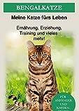 Bengal Katze: Das Bengalkatzen Buch - Erziehung, Ernährung und Pflege von Bengalen