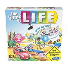 Great family game: Do you remember playing this classic Hasbro board game from your childhood,with instant setup and easy play, this exclusive edition is great fun to play when the family is together Life is full of adventures: This edition of the ga...