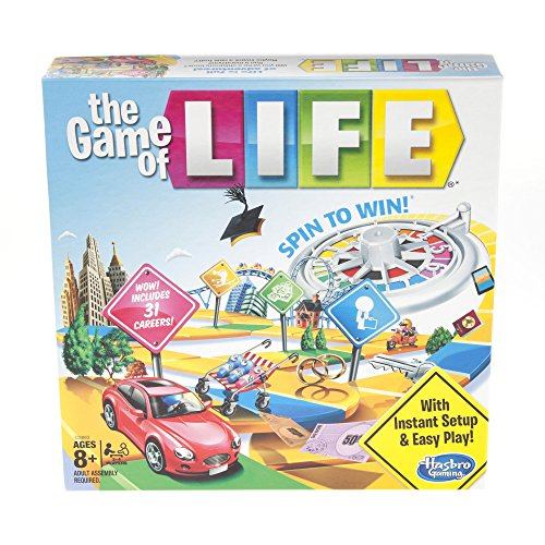 Image of Hasbro Gaming The Game of Life Board Game Ages 8 & Up (Amazon Exclusive)