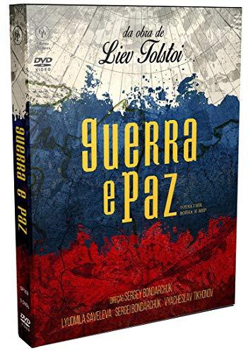 Guerra e Paz [Digistak com 3 DVD's]