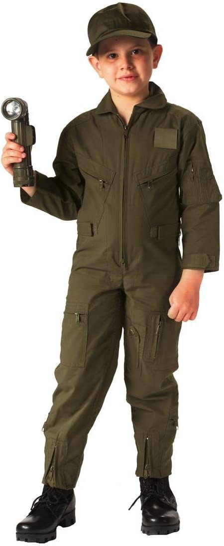 Special price for a limited time Rothco Kids Flight Coverall Drab - Olive Max 87% OFF