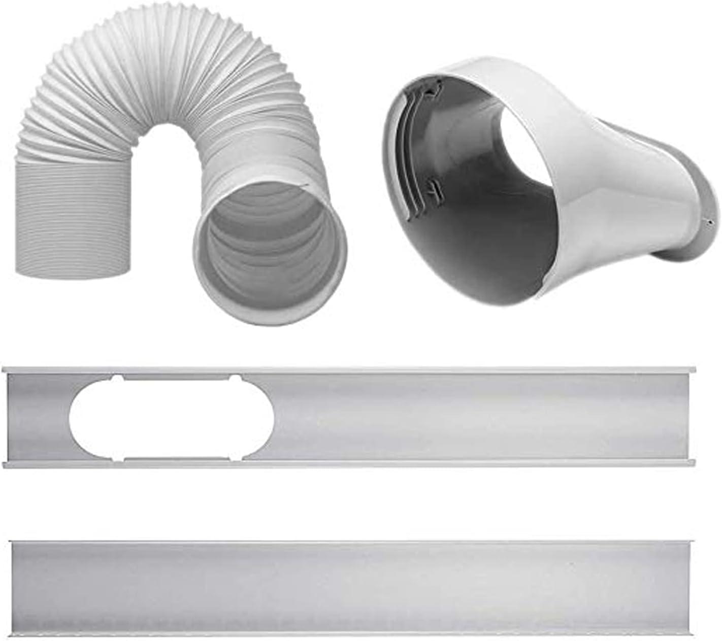 ICRPSTU Air Finally resale start Los Angeles Mall Conditioner Accessories Set Kit 2Pcs Window Slide P