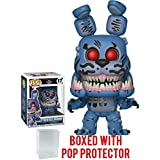 Funko Pop! Books: Five Nights at Freddy's The Twisted Ones - Twisted Bonnie Vinyl Figure (Bundled with Pop Box Protector Case)