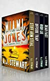 Miami Jones Florida Mystery Series Box Set - Books 1-4: Toes in the Sand Collection (Miami Jones Omnibus Book 1)