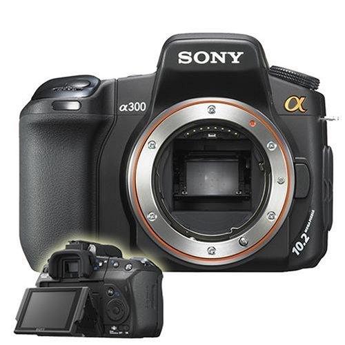 Sony Alpha 300 SLR-Digitalkamera (10 Megapixel) nur Gehäuse