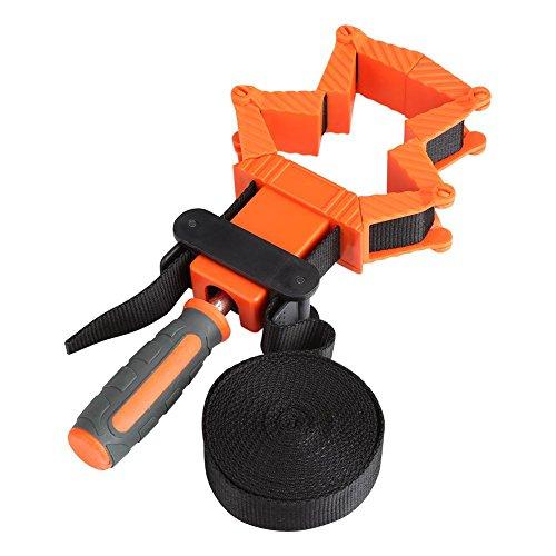 Tensor de cinta, Abrazadera de correa de banda ajustable de múltiples funciones, Sargento de cinta, Herramienta de Carpintería