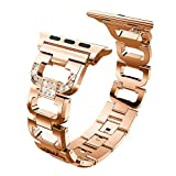 XIHAMA [type D] Bracelet compatible avec Apple Watch series 5 4 3 2 1, bracelets...