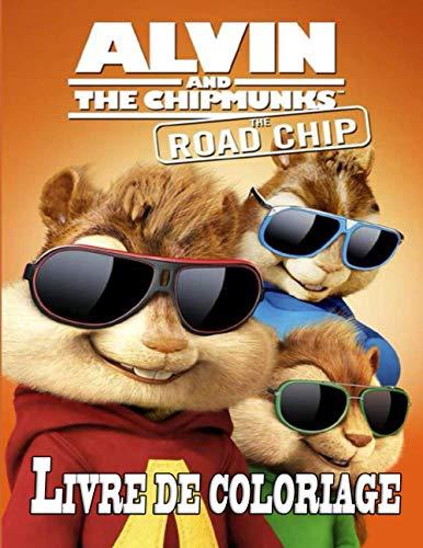 Alvin and The Chipmunks livre de coloriage