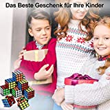 Willingood Mini Zauberwürfel 12 Stück 3*3*3cm Mitgebsel Kindergeburtstag Gastgeschenke für Weihnachten Reisespiele Kindergeburtstag Mädchen und Jungen - 7