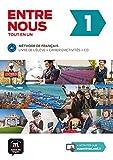 Entre nous 1 A1 : Livre de l'élève + cahier d'activités (2CD audio): Entre nous 1 Livre de l'élève + Cahier d'exercises + CD (Fle- Texto Frances)