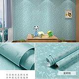 lsaiyy PVC Autoadhesivo Papel Pintado Simple Moda Dormitorio Sala de Estar Papel Tapiz TV Fondo Pared Hotel Oficina Papel Tapiz- 60cmx5m