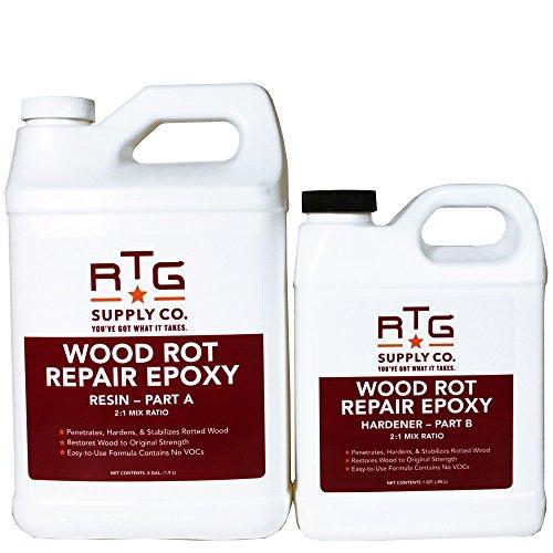 RTG Wood Rot Repair Epoxy (Half-Gallon)