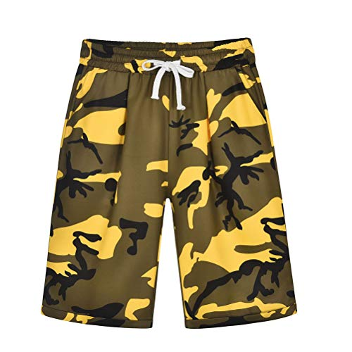 Adelina Vrouwen Losse Casual Outdoor Shorts Lente Zomer Vakantie Camouflage Korte Meisje Geschenken Print met Trekkoord Strappy Hotpants Boxershort
