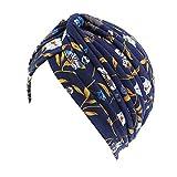Vobony Quimioterapia Turbante Mujer Cómodo Pañuelo Para Cabeza Quimio Bandana Gorro Oncológico para Cancer Pérdida de Cabello Headwear (#13)