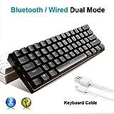Zoom IMG-1 tastiera bluetooth wireless urchoiceltd rk61