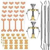 13 Pieces Ingrown Toenail Tools Kit, Includes Ingrown Toenail Lifter Ingrown Toenail Tool Toe Clamp, Ingrown Toenail Stickers, Curved Toenails Brace Stickers, Ingrown Toenail Files and Lifter