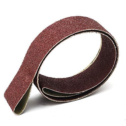 MOZUSA 2x72 Inch 36 Grit Sanding Belt Aluminum Oxide Grinding Polishing Sander Tool Grinding and Polishing Tools