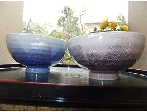 【送料無料】【九谷焼】ペアご飯茶碗『銀彩』 お祝い・結婚祝い・お返し・父の日・母の日・ご贈答
