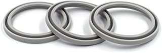 3-Pack Replacement Gaskets for Thermos FOOGO Food Jar 10 Ounce, BPA-FREE Seals Rubber O-Rings Accessories