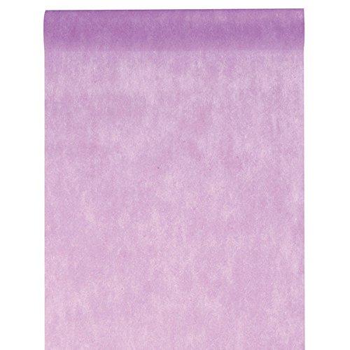 Inspirarte Deco - Camino de mesa en tela no tejida - Lilas