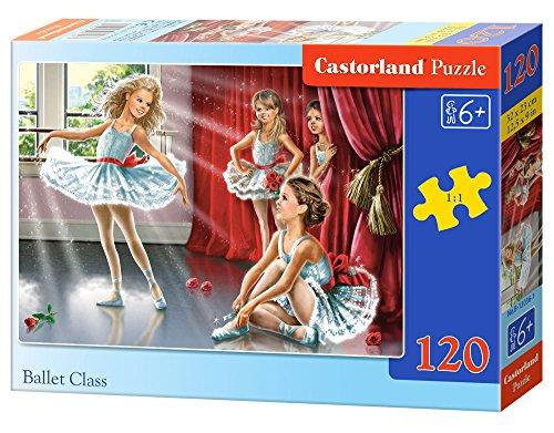 Castorland - B-13036-1 - Puzzle - Petites Ballerines - 120 Pièces