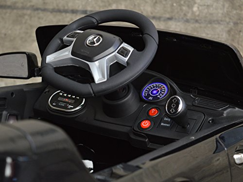 RC Auto kaufen Kinderauto Bild 2: Mercedes Benz ML 350 Kinder Elektro Auto - Original Lizenz Daimler - Vollausstattung - LED Beleuchtung - Vollgummi - USB - Bluetooth - Kinderauto*