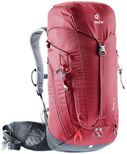 Deuter Trail 30 Backpacking Backpack, Cranberry/Graphite